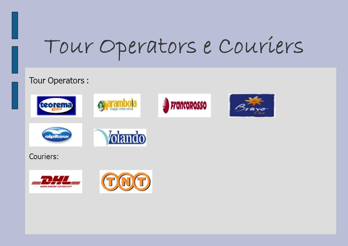 Tour Operators e Couriers