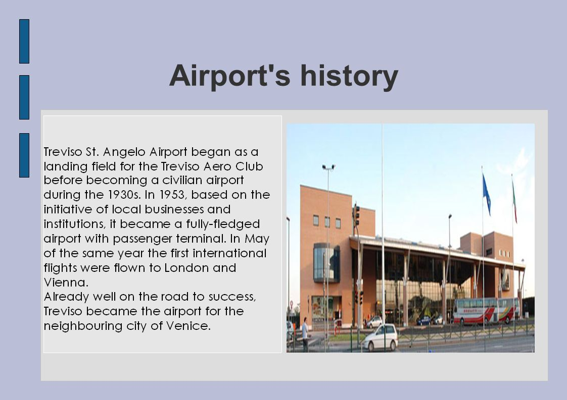 Airport s history