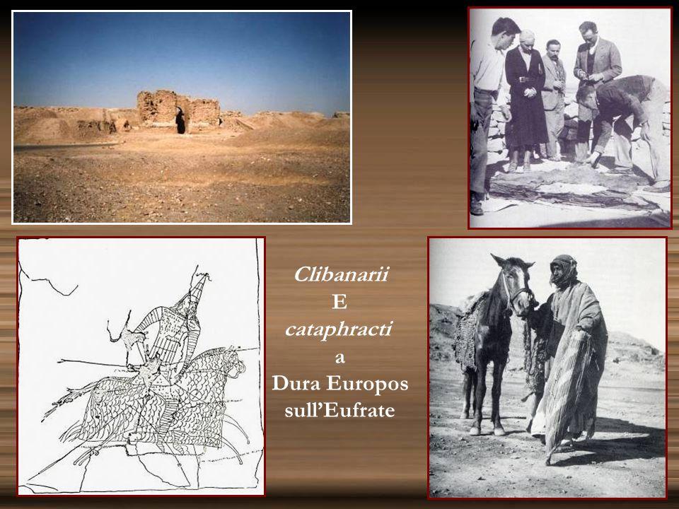 Clibanarii E cataphracti a Dura Europos sull'Eufrate