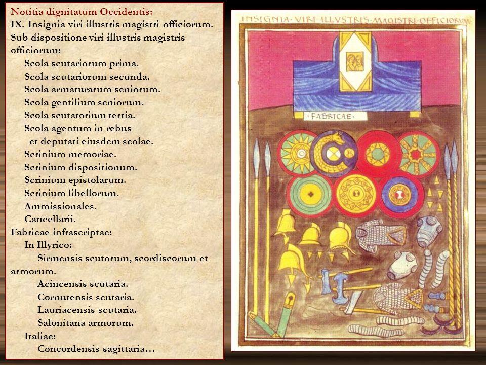Notitia dignitatum Occidentis: