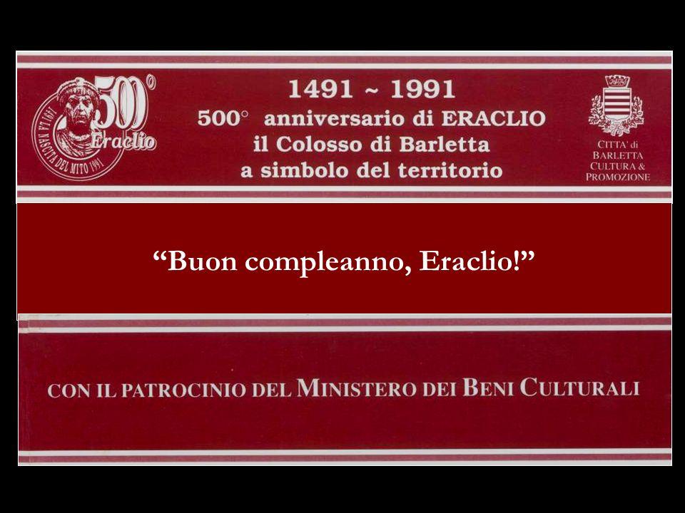 Buon compleanno, Eraclio!
