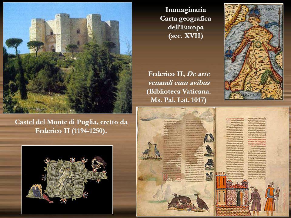 Carta geografica dell'Europa (sec. XVII)