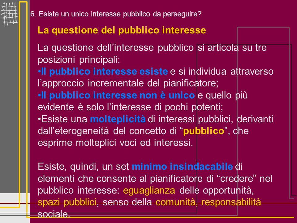 La questione del pubblico interesse