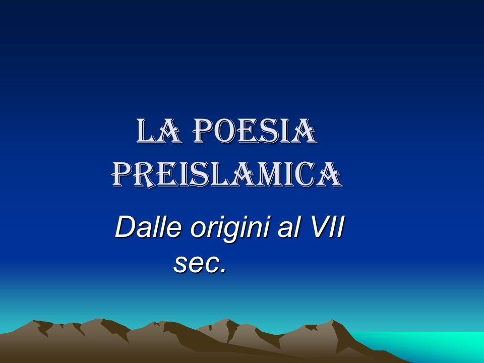 Dalle origini al VII sec.