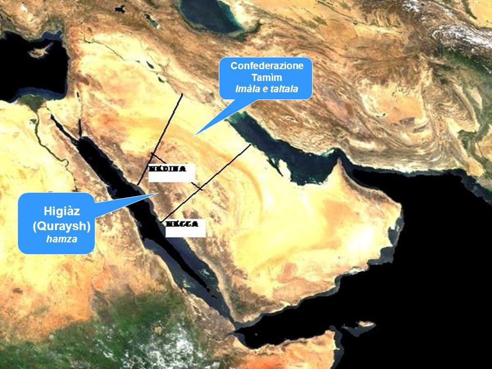 Confederazione Tamìm Imàla e taltala Higiàz (Quraysh) hamza