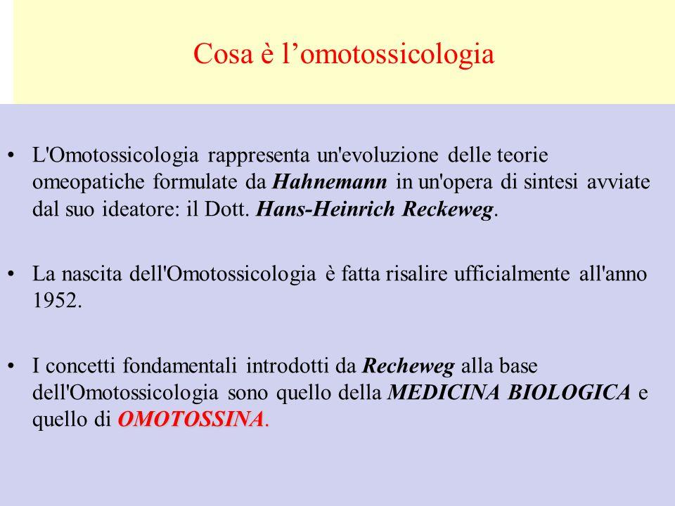 Cosa è l'omotossicologia