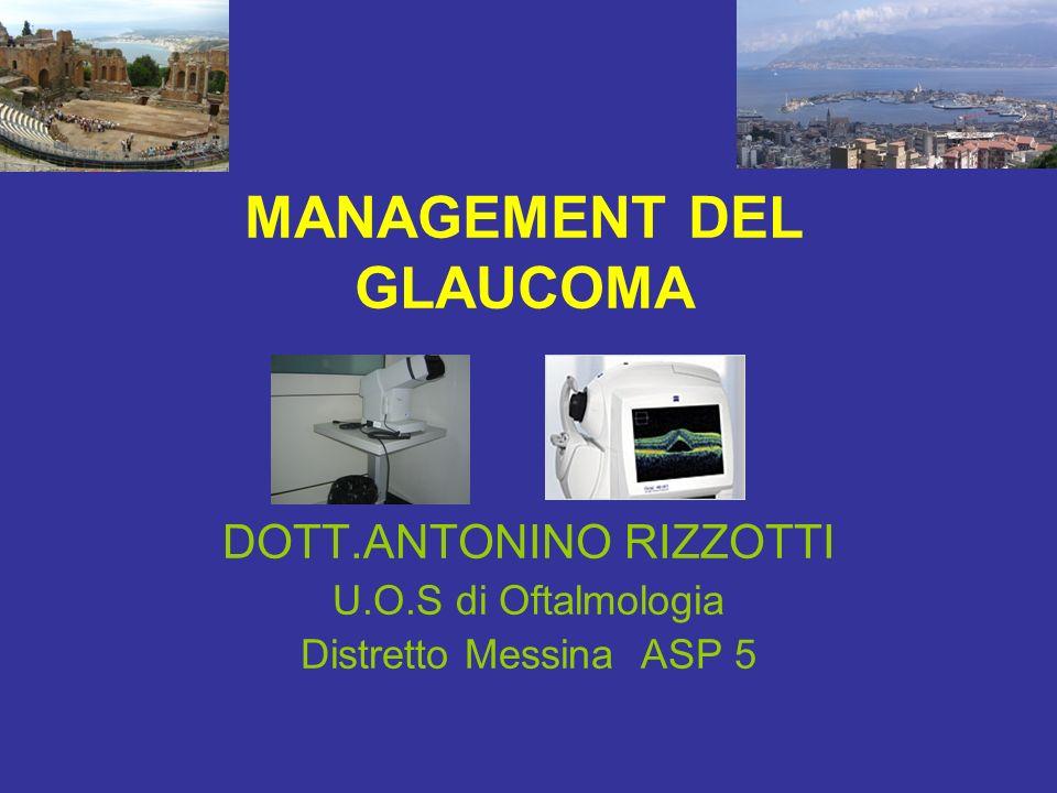 MANAGEMENT DEL GLAUCOMA