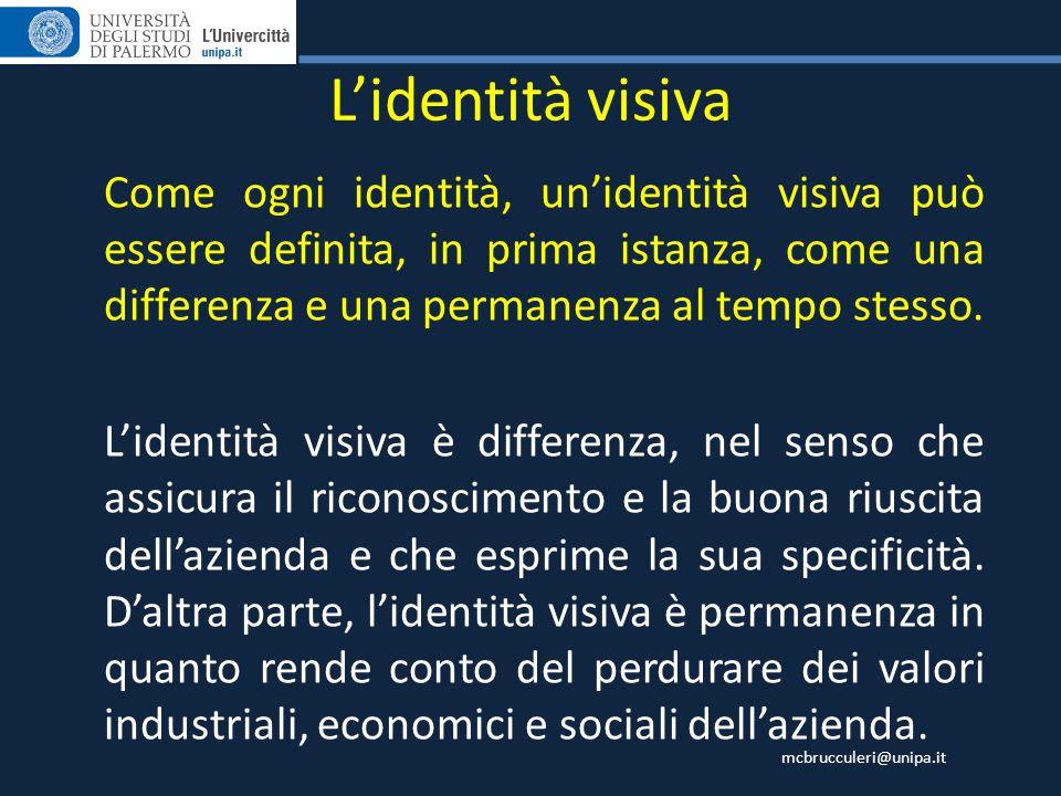 L'identità visiva