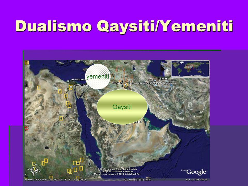 Dualismo Qaysiti/Yemeniti