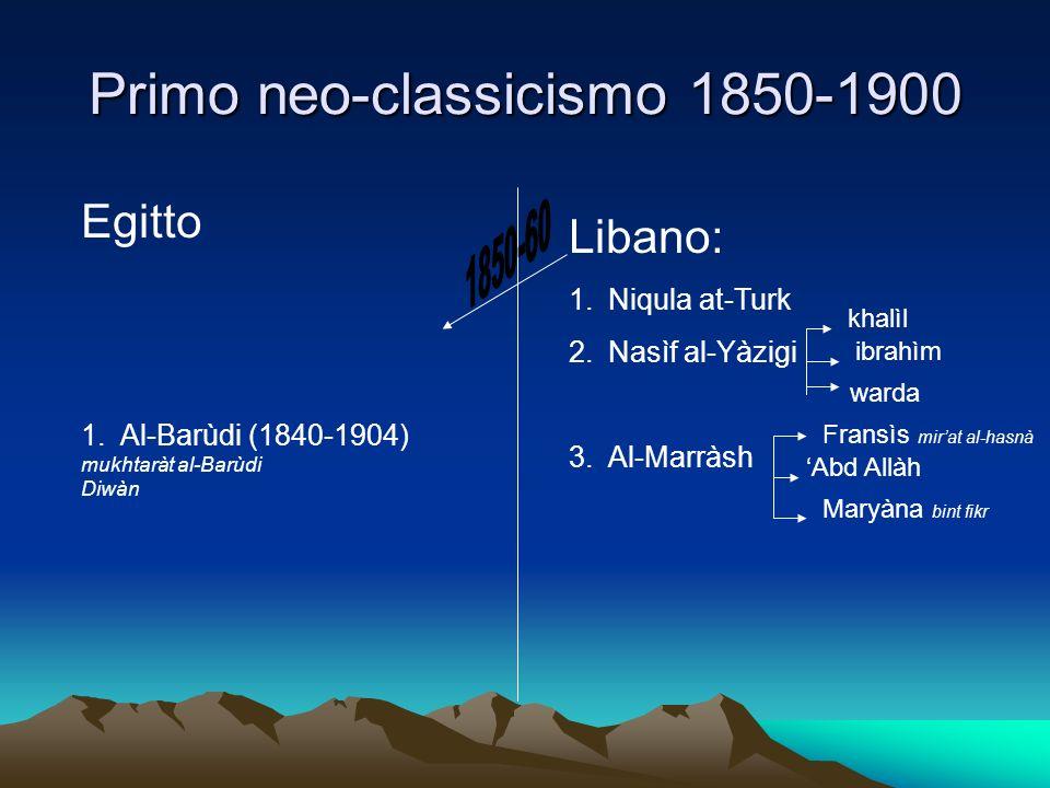 Primo neo-classicismo 1850-1900