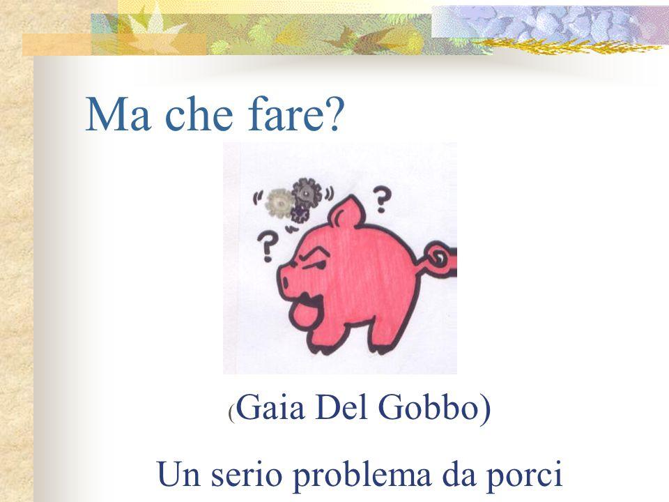Un serio problema da porci