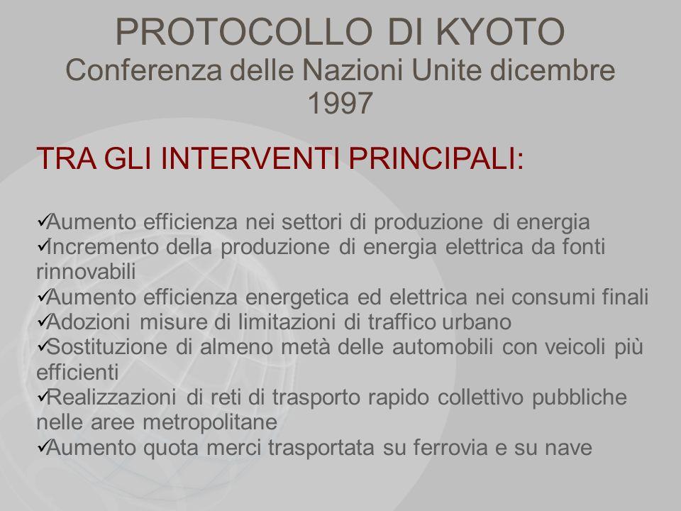 Conferenza delle Nazioni Unite dicembre 1997