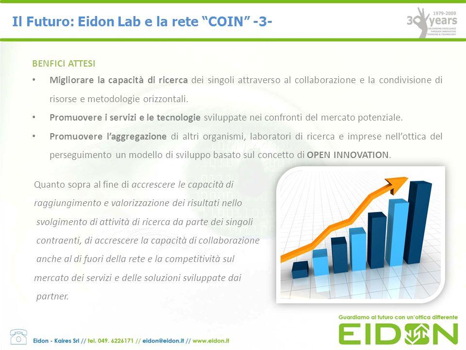 Il Futuro: Eidon Lab e la rete COIN -3-