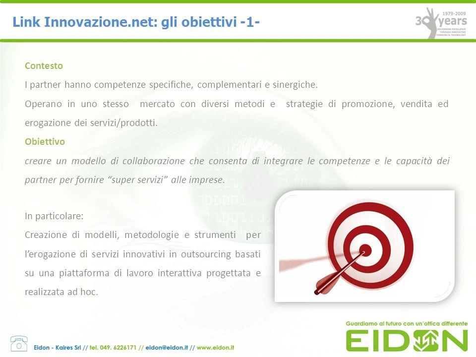 Link Innovazione.net: gli obiettivi -1-