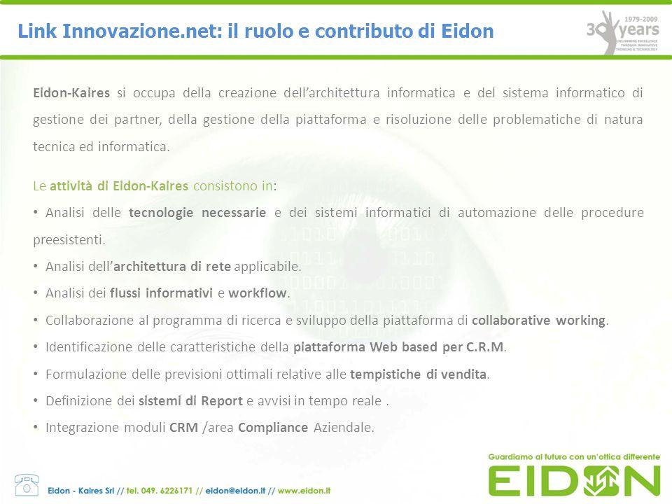 Link Innovazione.net: il ruolo e contributo di Eidon