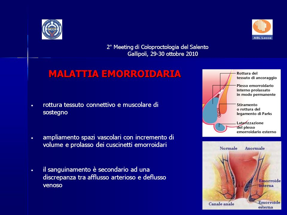 2° Meeting di Coloproctologia del Salento