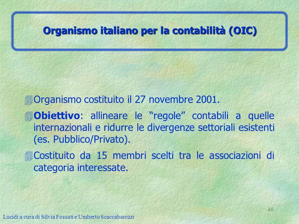Organismo italiano per la contabilità (OIC)