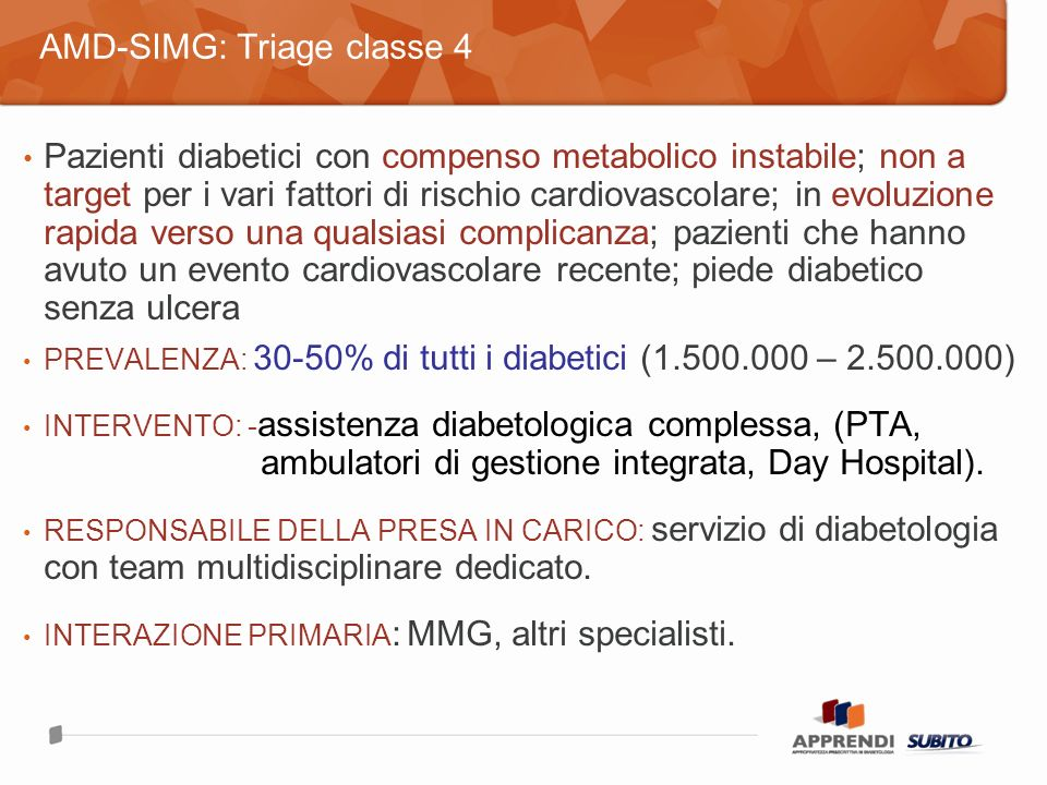 AMD-SIMG: Triage classe 4