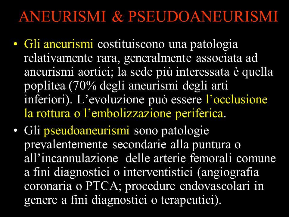 ANEURISMI & PSEUDOANEURISMI