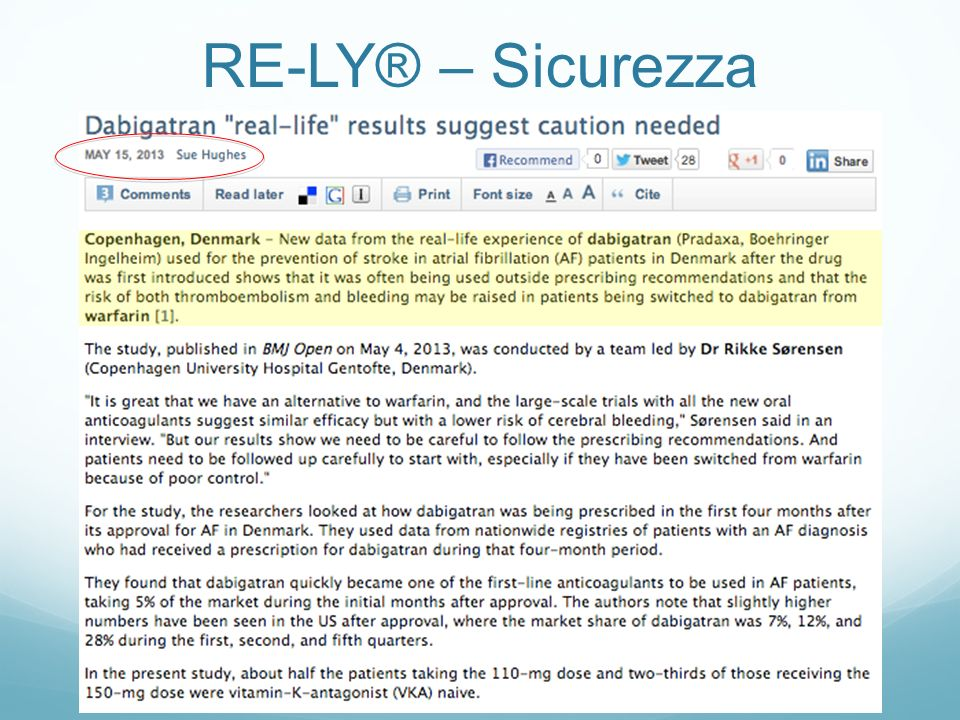 RE-LY® – Sicurezza