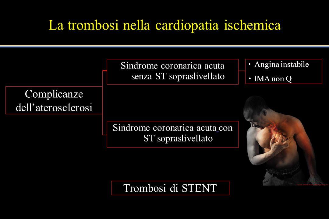 La trombosi nella cardiopatia ischemica
