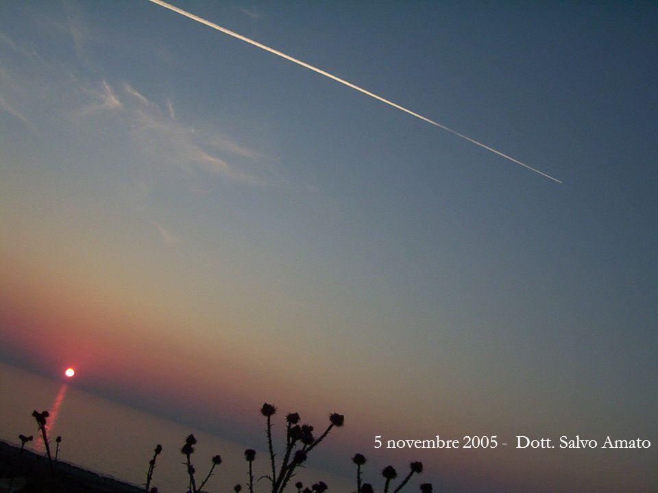 5 novembre 2005 - Dott. Salvo Amato