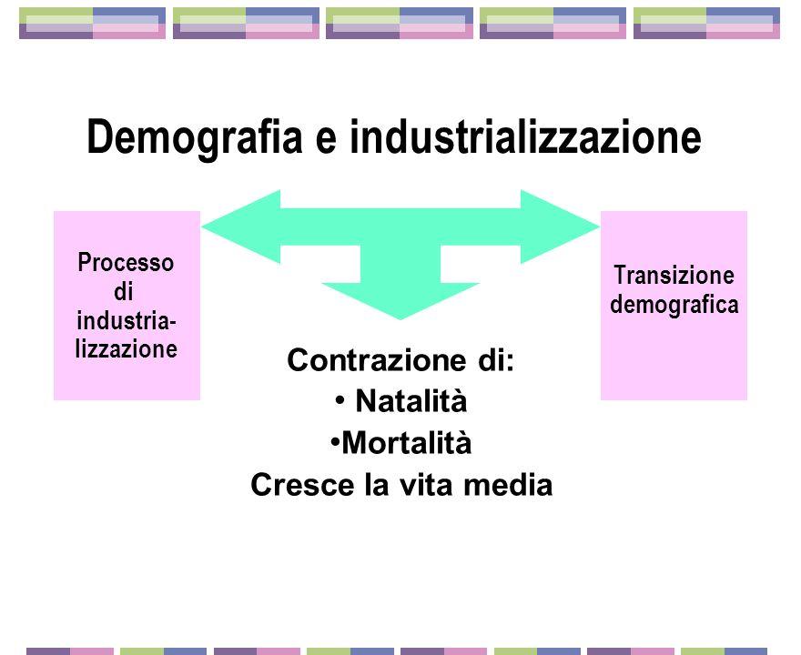Demografia e industrializzazione
