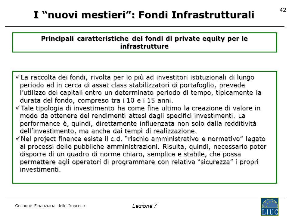 I nuovi mestieri : Fondi Infrastrutturali