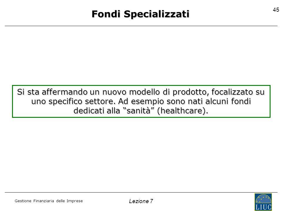 Fondi Specializzati