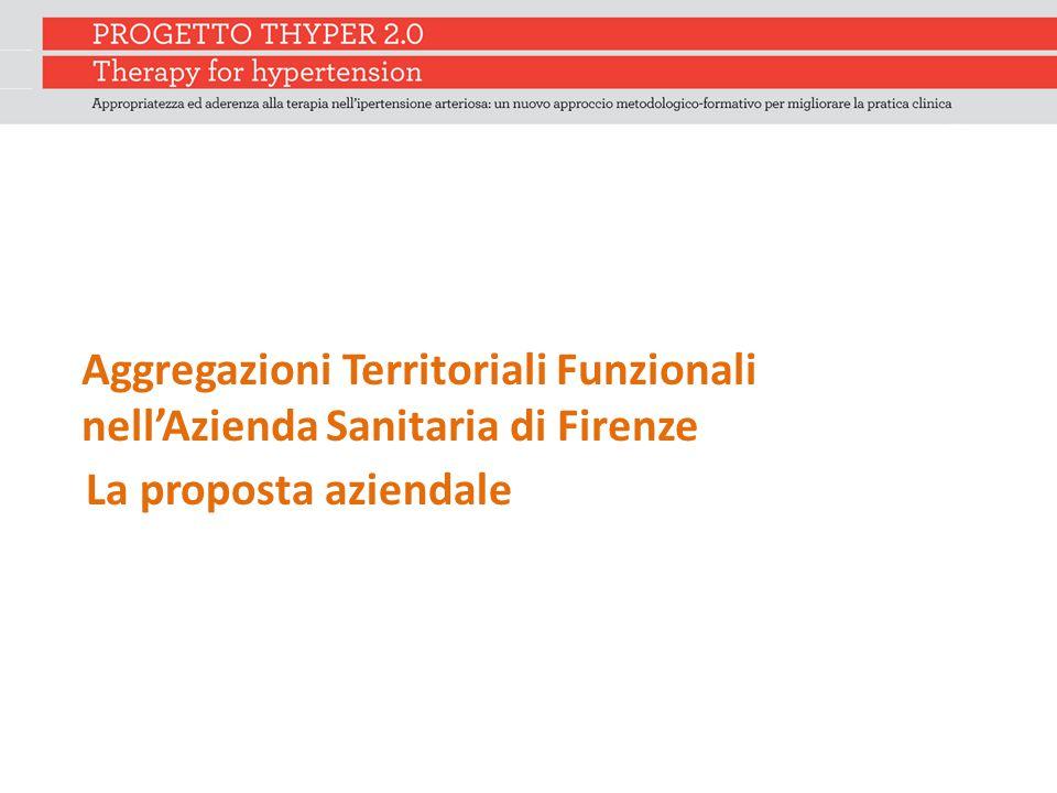 Aggregazioni Territoriali Funzionali nell'Azienda Sanitaria di Firenze