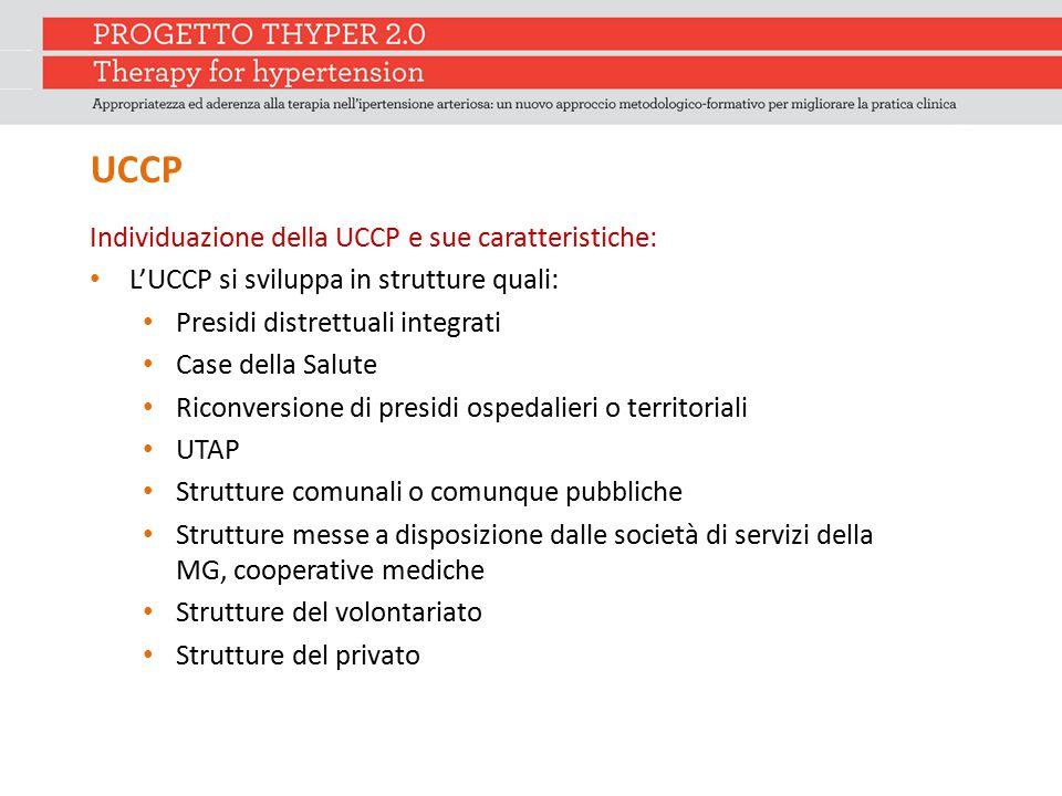 UCCP Individuazione della UCCP e sue caratteristiche: