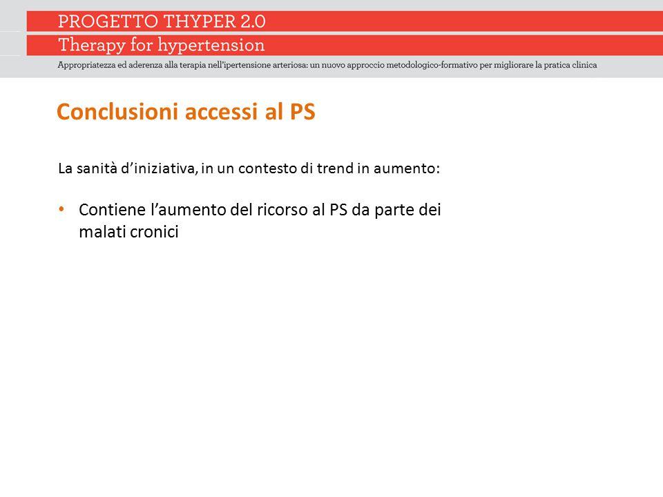 Conclusioni accessi al PS