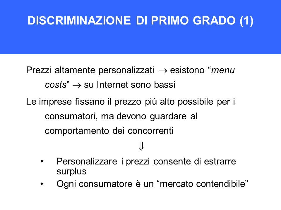 DISCRIMINAZIONE DI PRIMO GRADO (1)