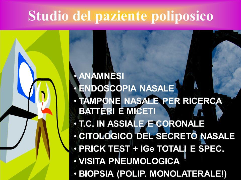 Studio del paziente poliposico