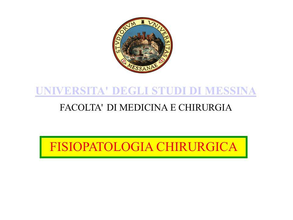 FISIOPATOLOGIA CHIRURGICA