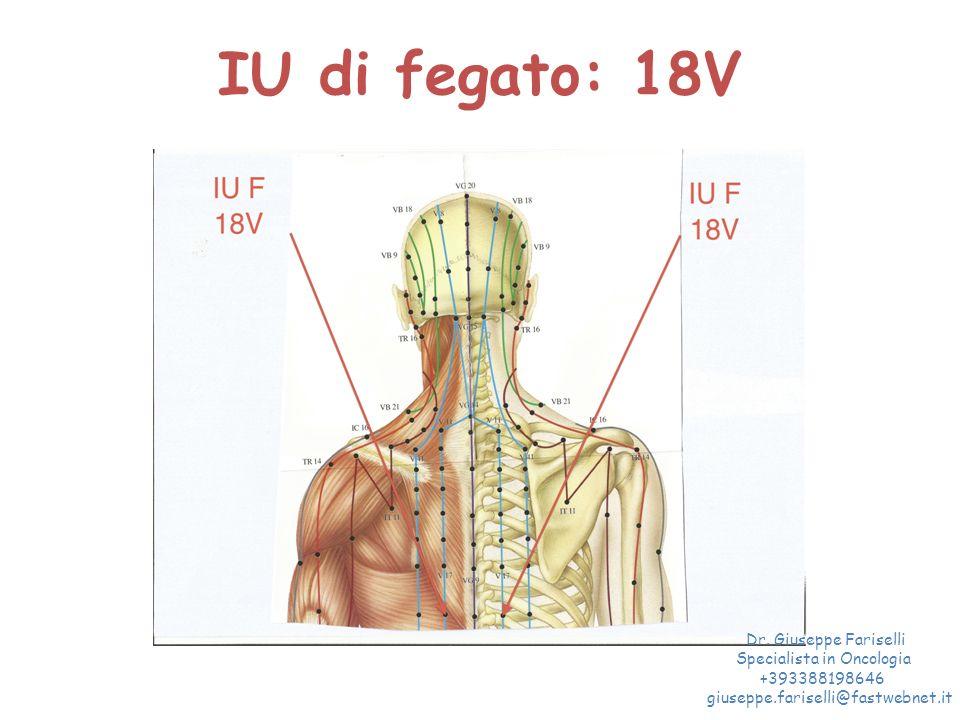 IU di fegato: 18V Dr. Giuseppe Fariselli Specialista in Oncologia