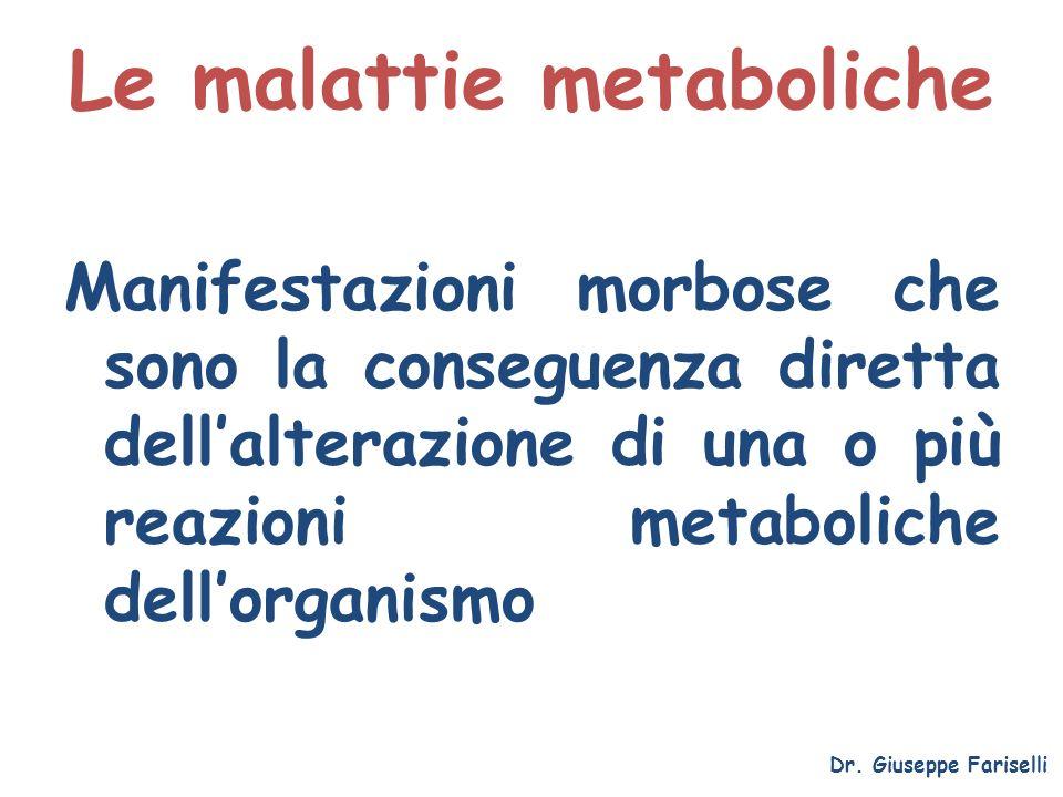 Le malattie metaboliche