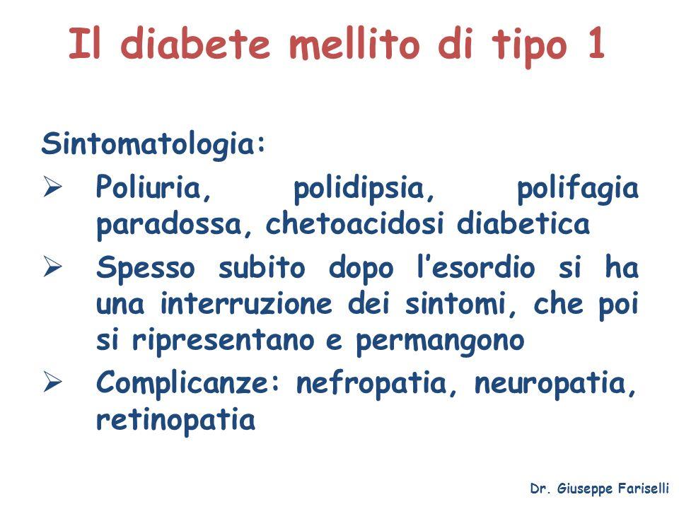 Il diabete mellito di tipo 1