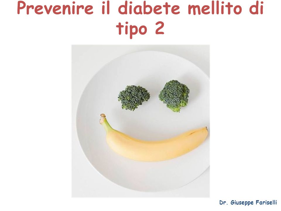 Prevenire il diabete mellito di tipo 2