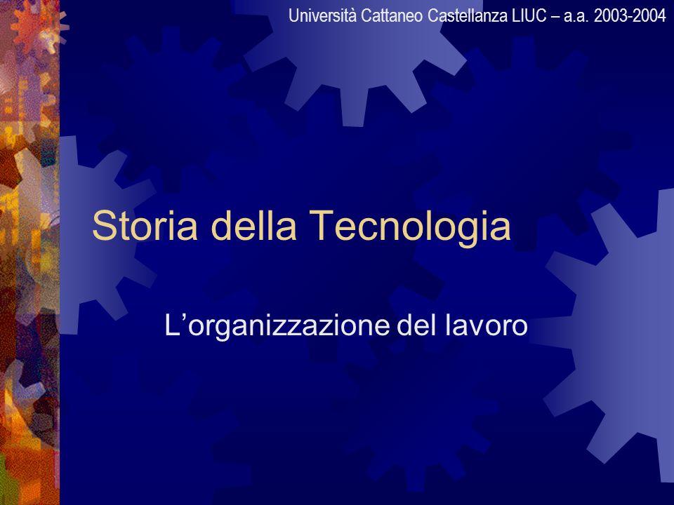 Storia della Tecnologia