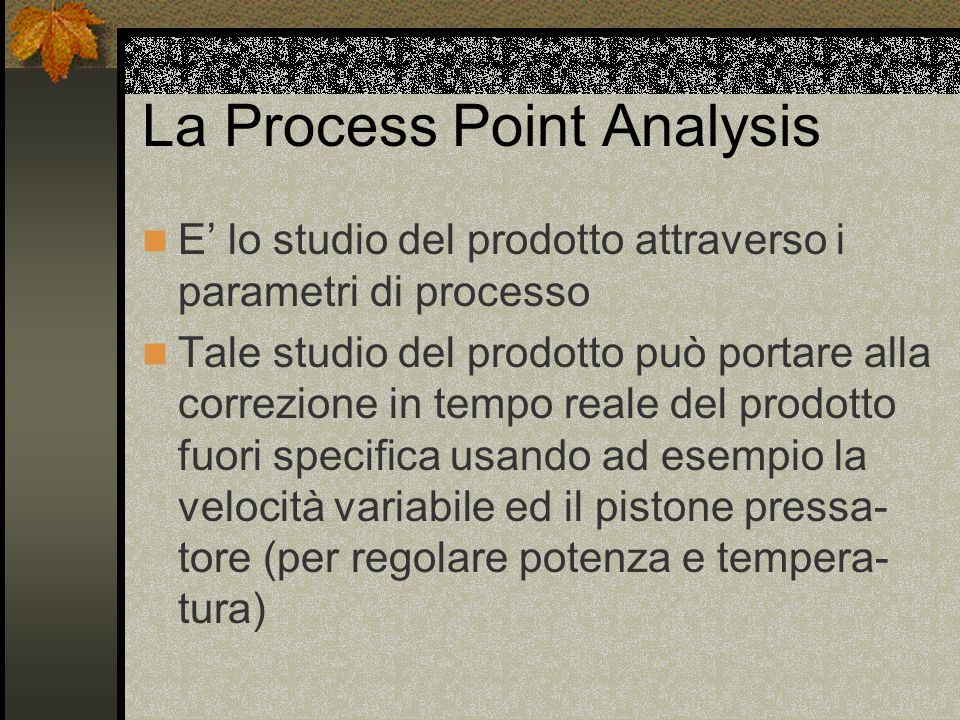 La Process Point Analysis