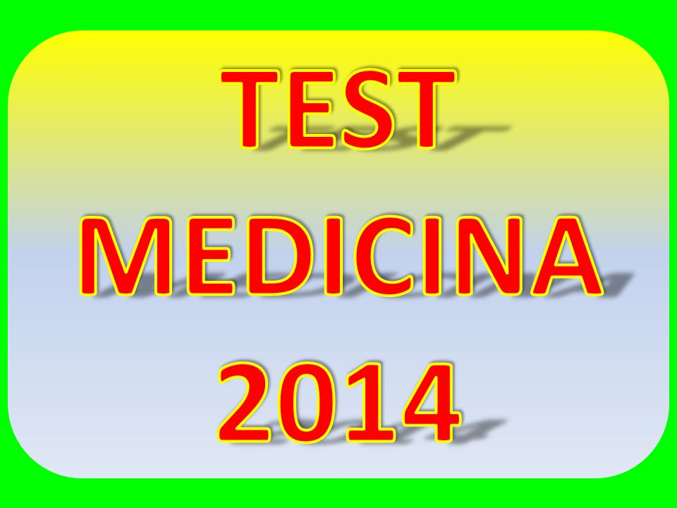 test medicina ppt video online scaricare