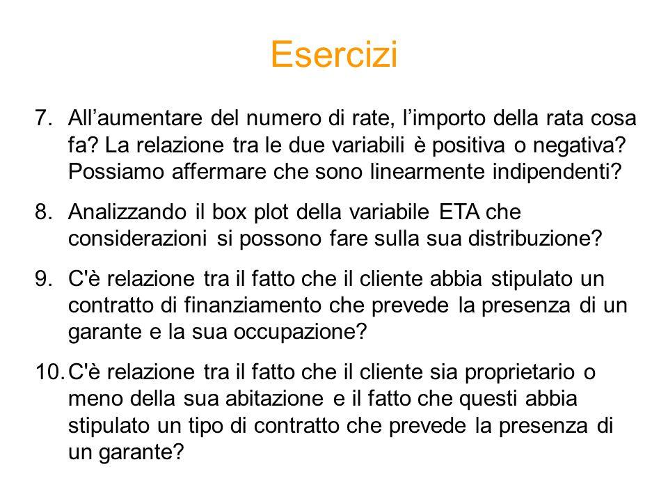 Esercizi Metodi Quantitativi per Economia, Finanza e Management Esercitazione n°6. - ppt scaricare