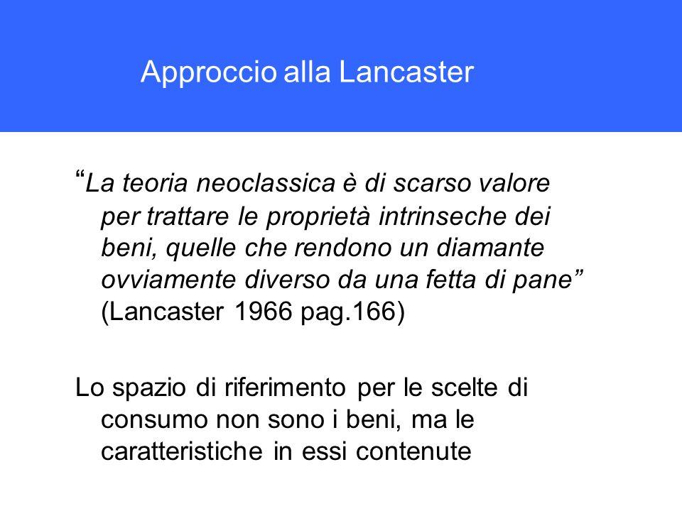 Approccio alla Lancaster