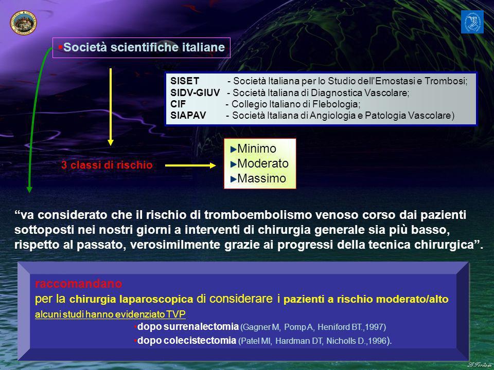 Società scientifiche italiane