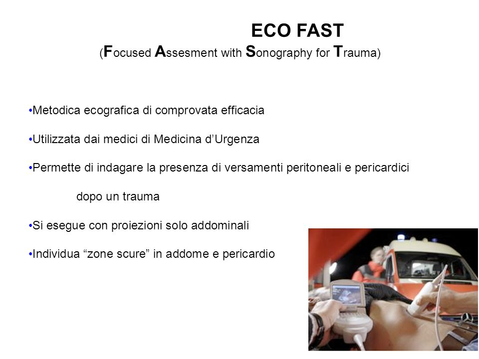 (Focused Assesment with Sonography for Trauma)