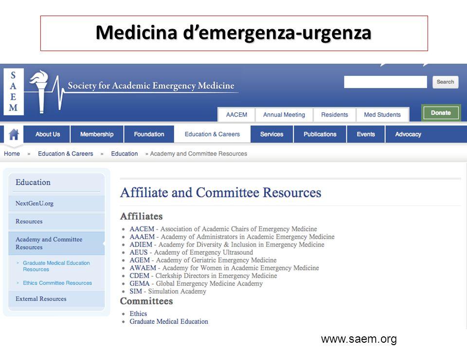 Medicina d'emergenza-urgenza