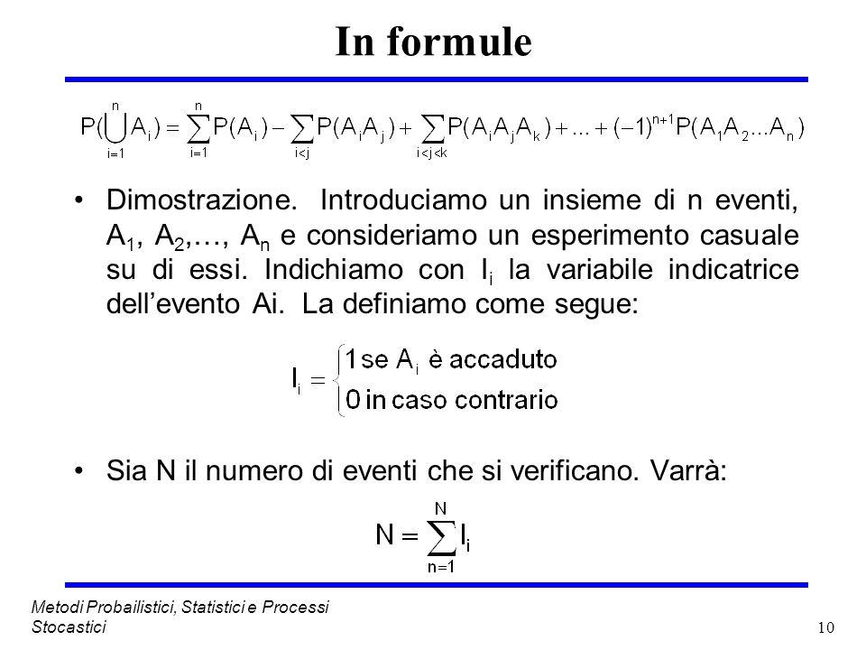 In formule
