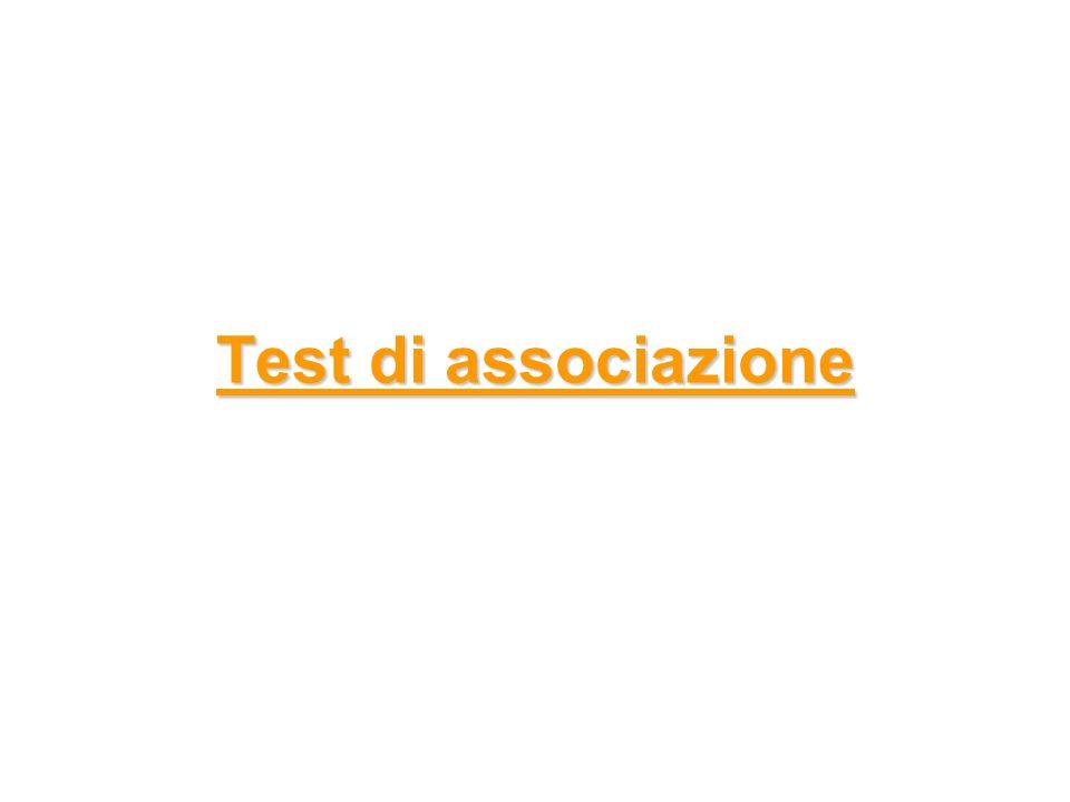 Test di associazione