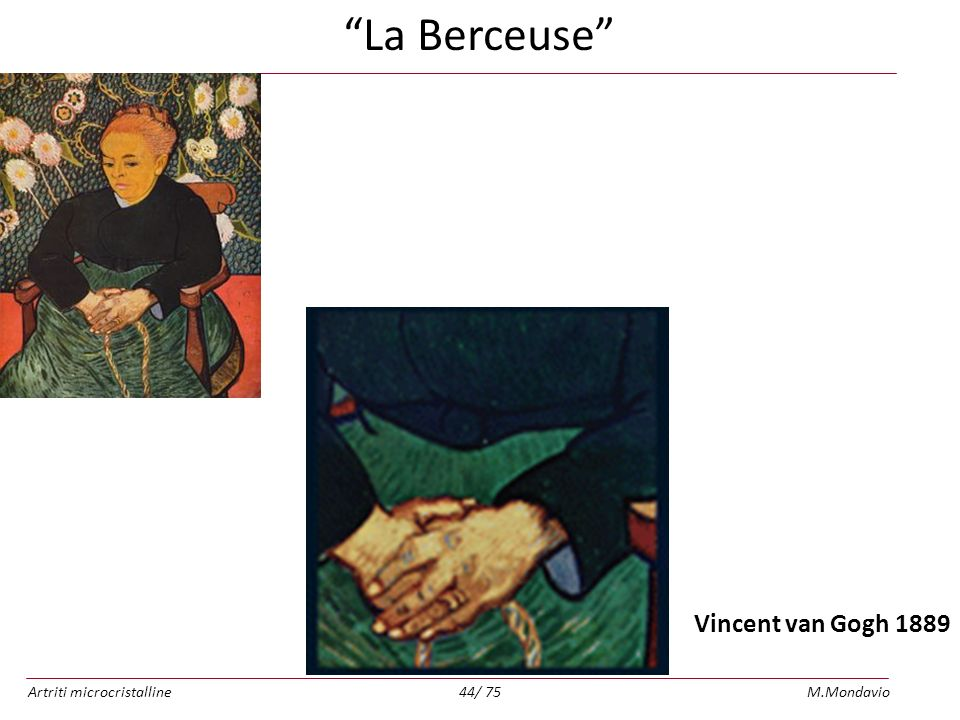 La Berceuse Vincent van Gogh 1889